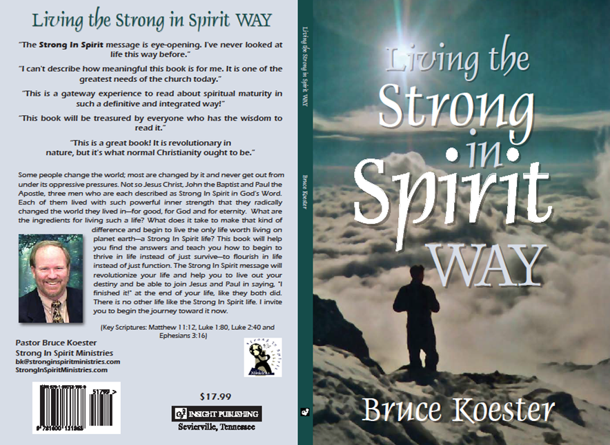 Strong In Spirit Book Cover
